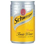 can of tonic water